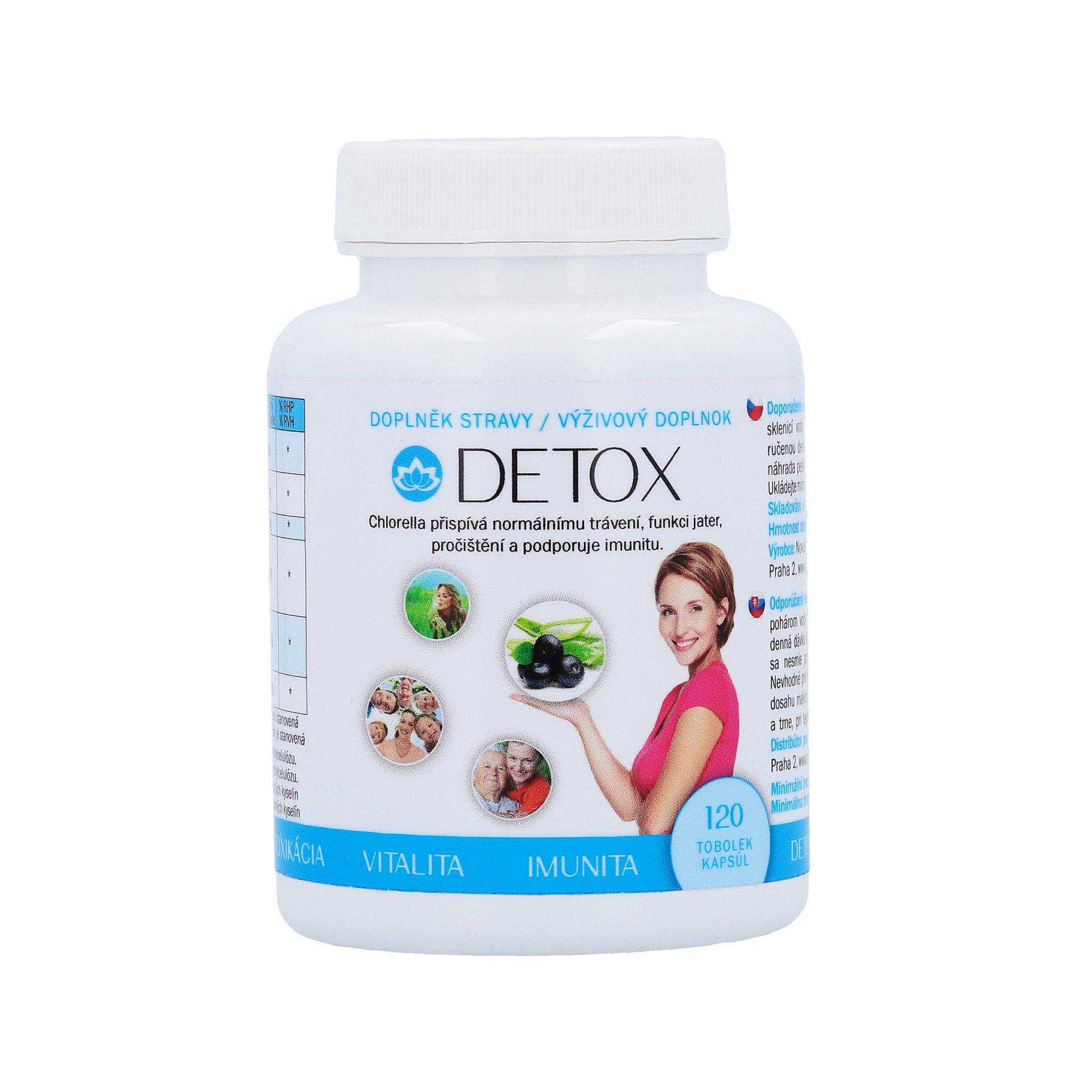 Novax Naturpharma Detox 120ks