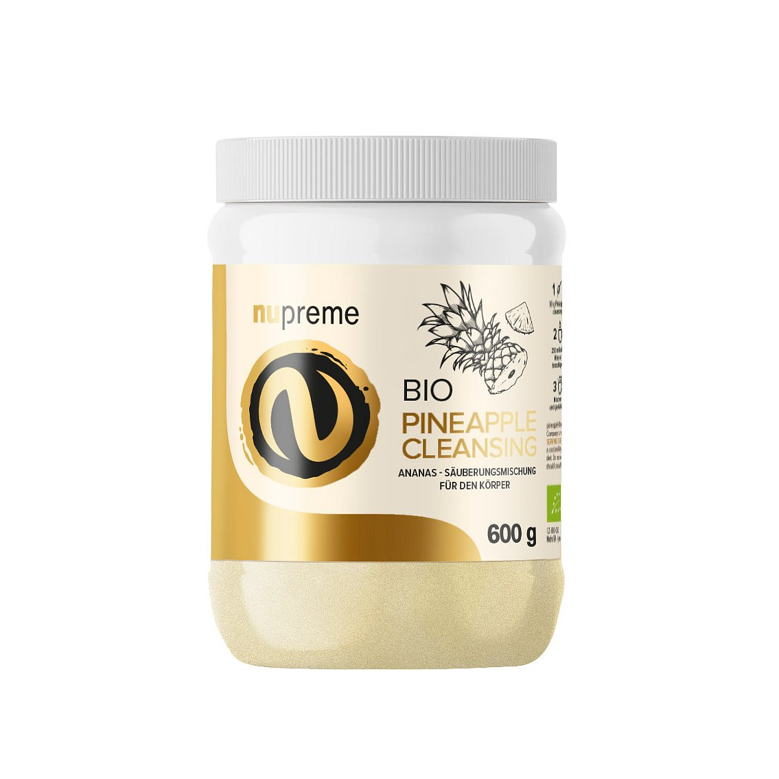 NUPREME BIO Pineapple Cleansing 600g