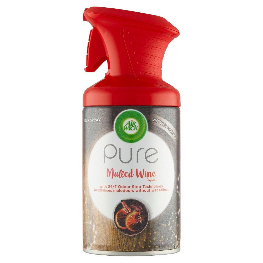 Air Wick Pure Osvěžovač vzduchu v spreji vůně svařeného vína  250 ml