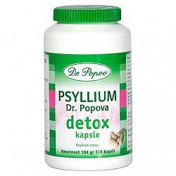 Dr. Popov Psyllium Detox 120 kapslí