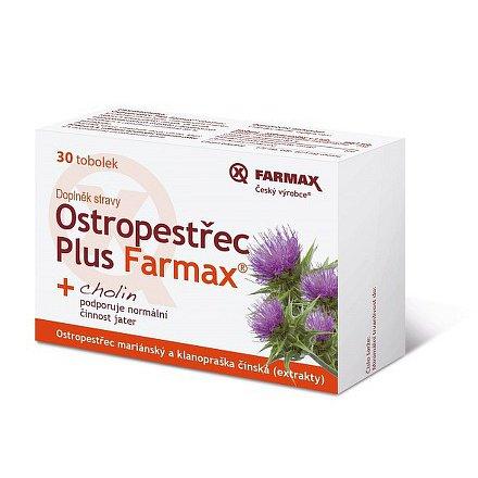 Ostropestřec Plus Farmax tobolky 30