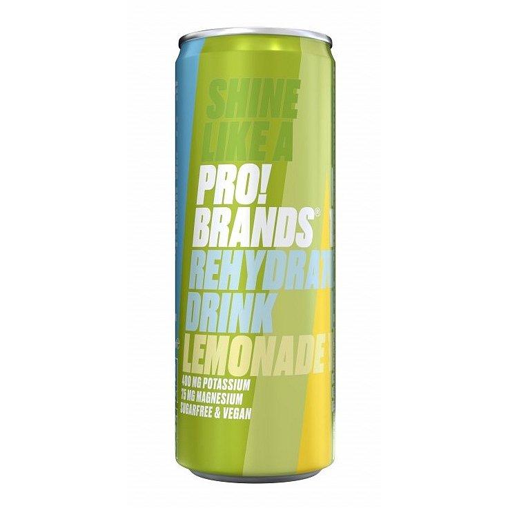 FCB Sweden ProBrands Rehydrate Drink zázvorová limonáda 250ml