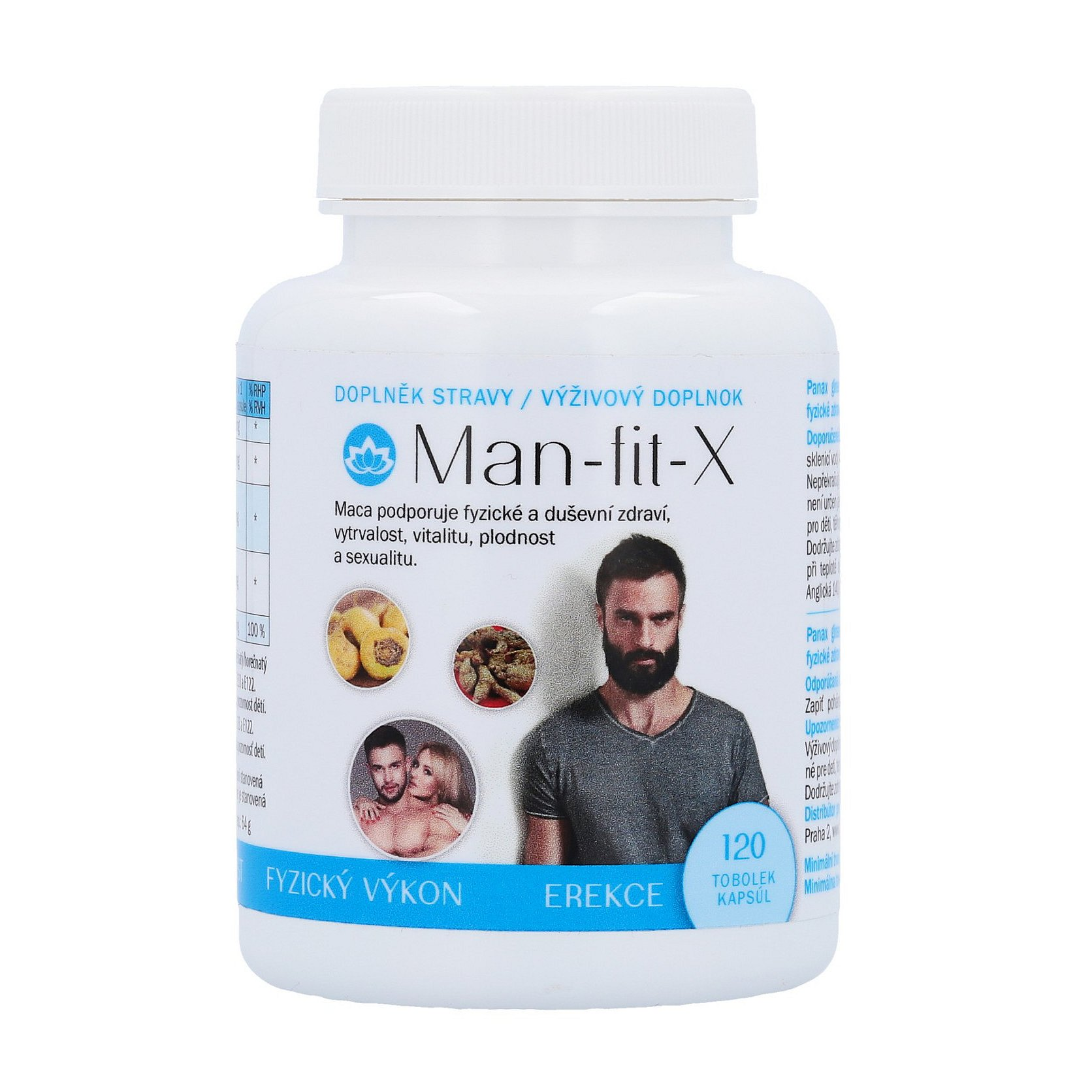 Novax Naturpharma Man-fit-X 120ks
