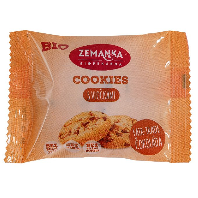 Bio cookies s vločkami