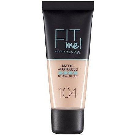 Maybelline Fit Me sjednocující matující make-up pro normální až mastnou pleť 104 Soft Ivory 30ml