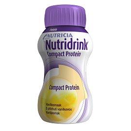 Nutridrink Compact Protein Vanilka perorální roztok 4 x 125 ml