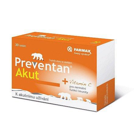 Preventan Akut tablety 30