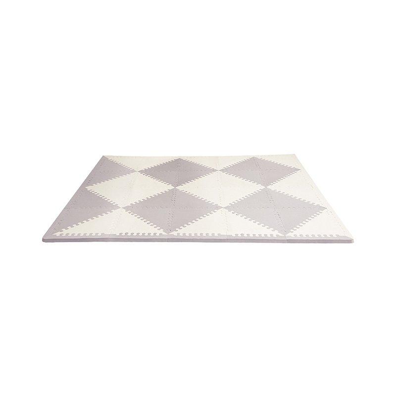 SKIP HOP Puzzle pěnové šedo-béžové 72 ks, 10 m+