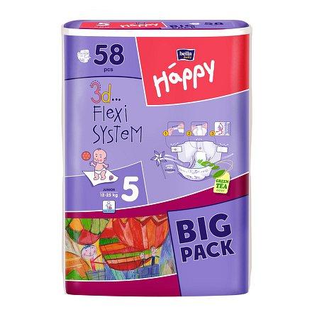 Bella HAPPY Junior Big Pack dětské pleny 58 ks