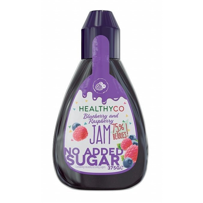 HealthyCo Borůvkovo-malinový džem 375g