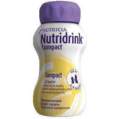 Nutridrink Compact Protein Banán perorální roztok 4 x 125 ml