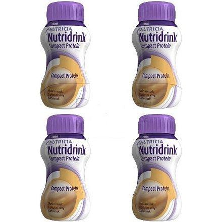 Nutridrink Compact Protein Káva perorální roztok 4 x 125 ml