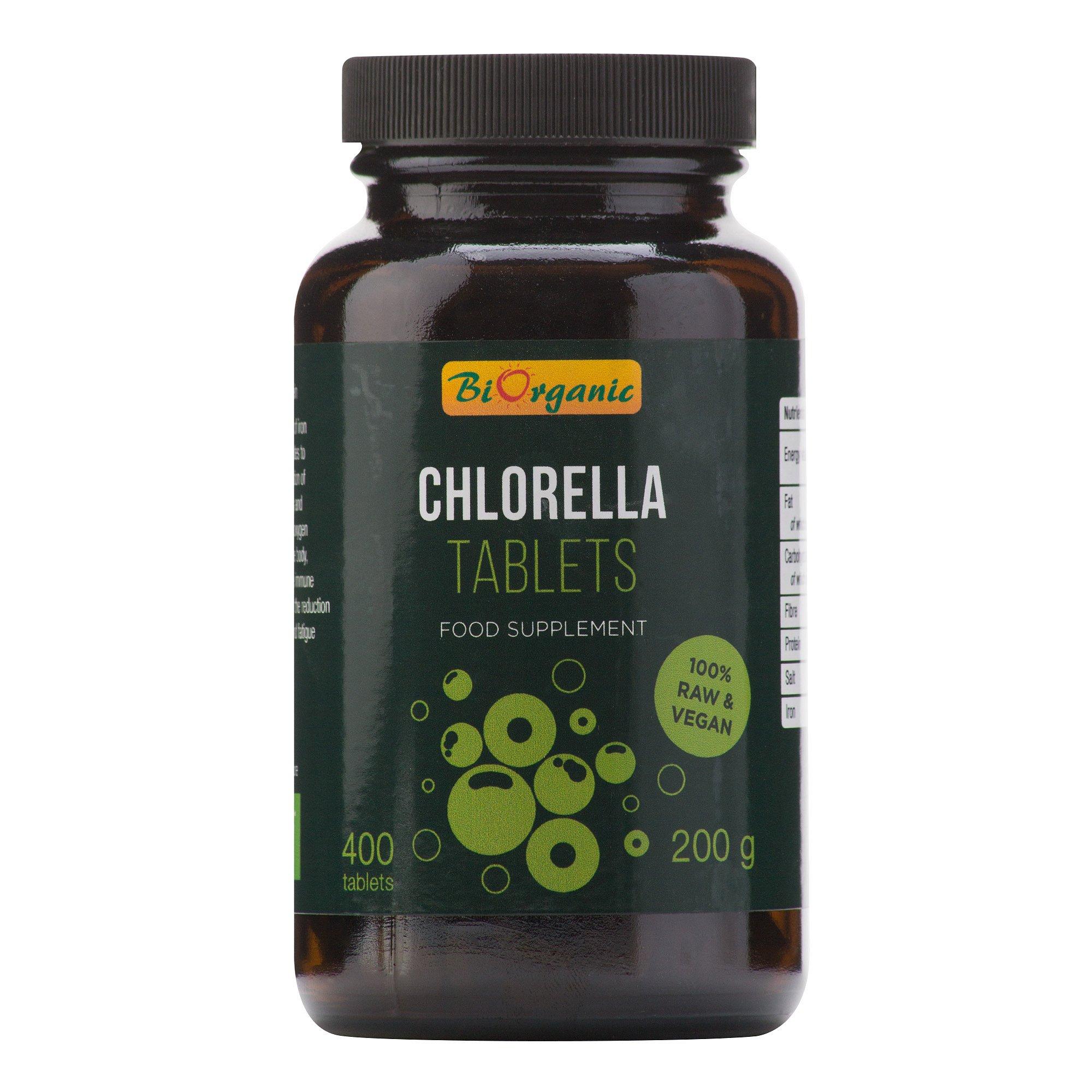 BIORGANIC BIO Chlorella 400 tablet 200 g