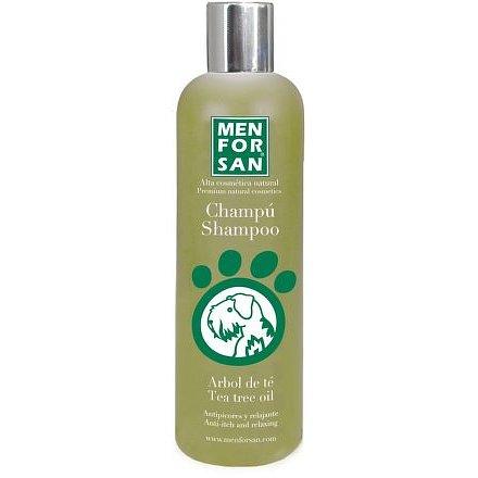 Menforsan Přírodní šampon proti svědění s Tea Tree olejem pro psy 300ml