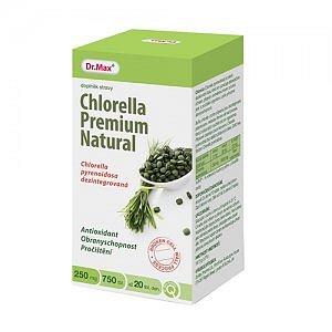 Dr.Max Chlorella Premium Natural tbl 750