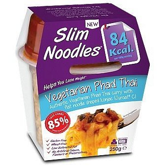 Slim Lunchbox Vegetarianské Pad Thai noodles 250g