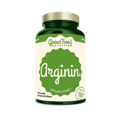 GreenFood Nutrition Arginin 120cps