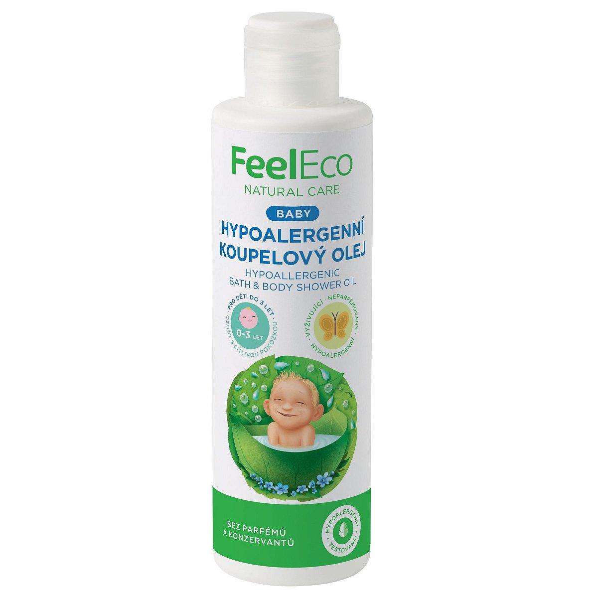 Feel Eco Baby Hypoalergenní koupelový olej 200 ml
