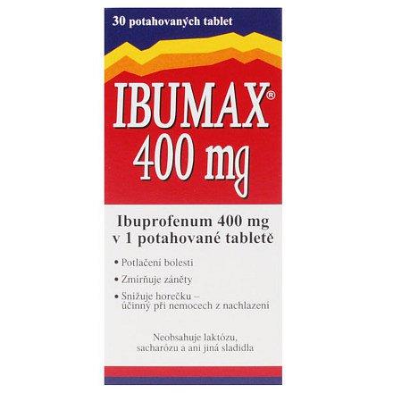 Ibumax 400 tablety 30ks