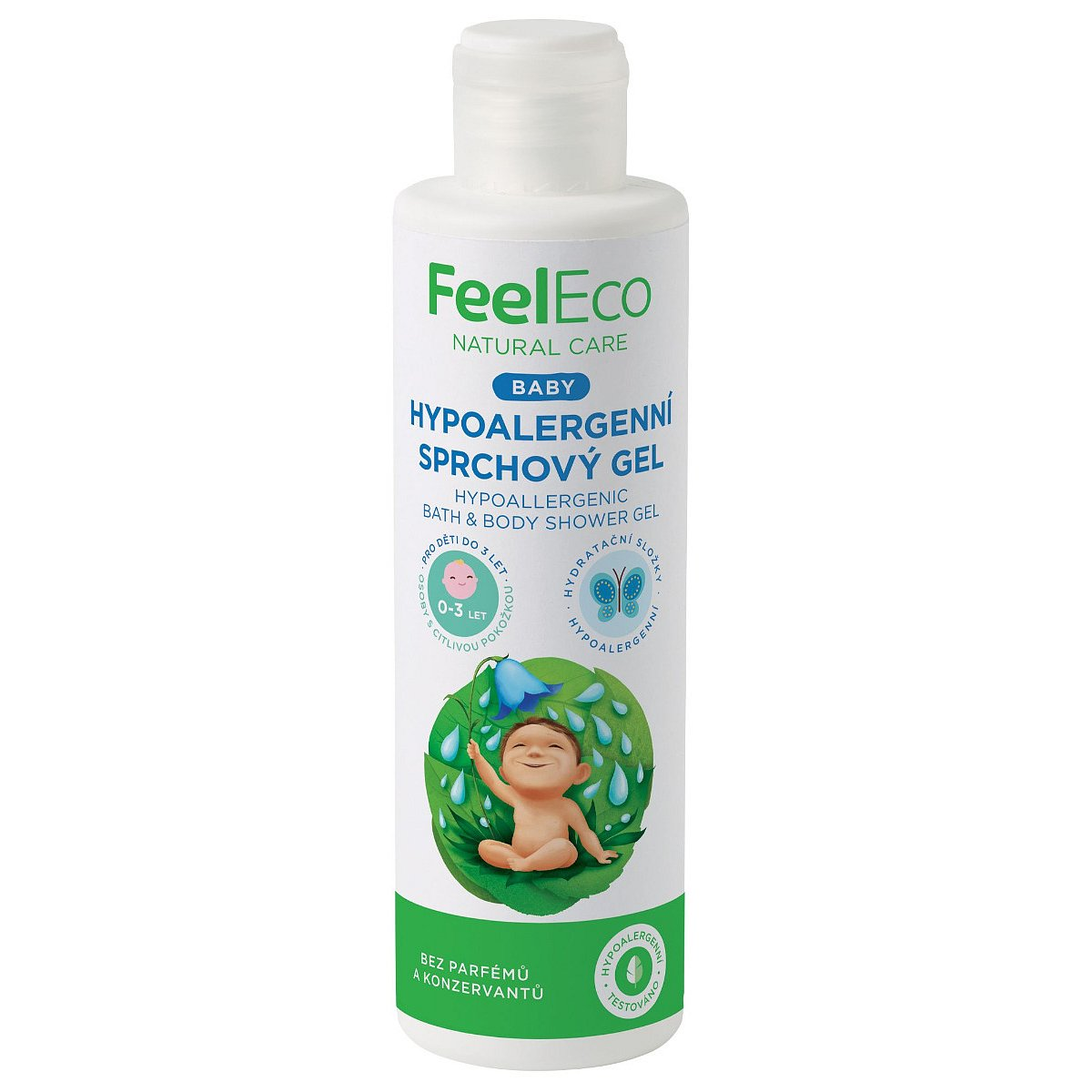 Feel Eco Baby Hypoalergenní sprchový gel 200 ml