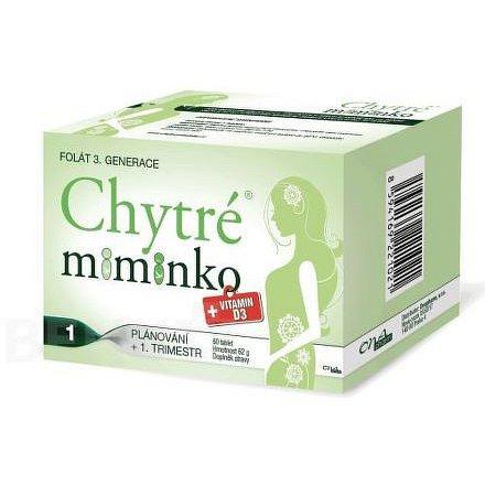 Chytré miminko + vitamin D3 tablety 60