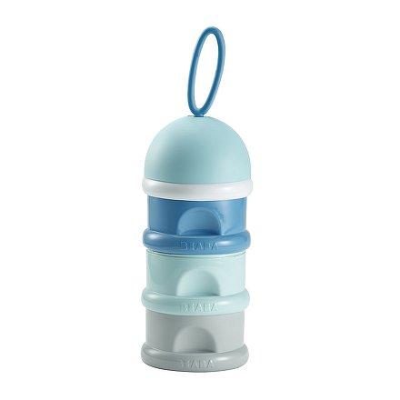 Dávkovač sušeného mléka modrý