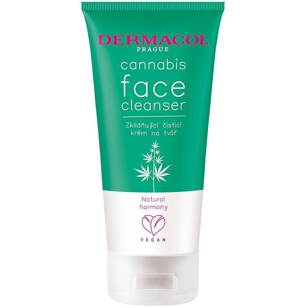 DERMACOL Cannabis Čisticí krém na tvář 150 ml