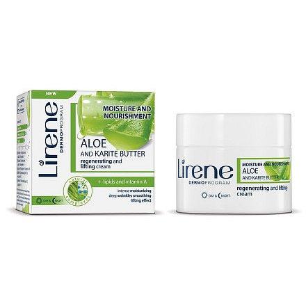 Lirene H&V Krém Aloe a Karité máslo DEN/NOC 50ml