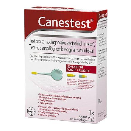 Canestest test pro samodiagnostiku vagin.infekcí 1ks