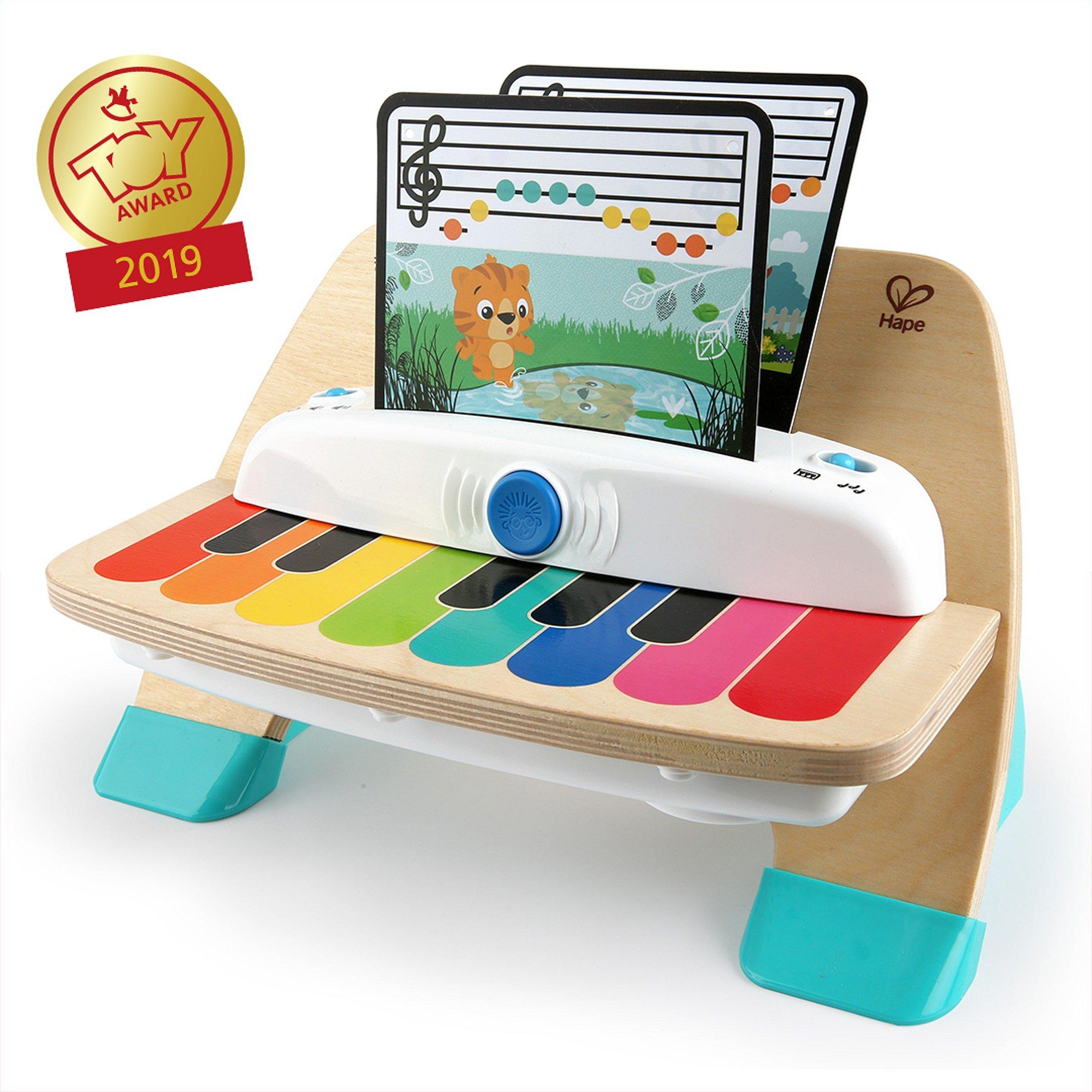 BABY EINSTEIN Hračka dřevěná hudební klavír Magic Touch 12m+