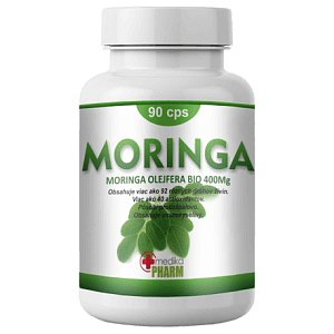 Moringa Oleifera 90 kapslí