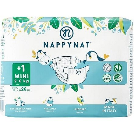 Plenky Nappynat Mini 2 - 6 kg (26 ks)