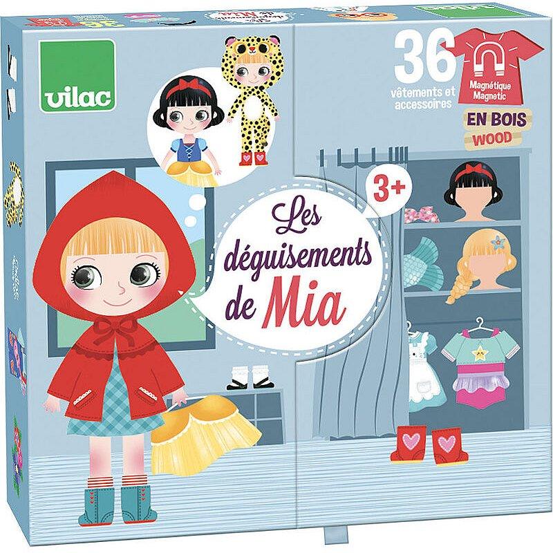 Vilac Magnetické oblékací puzzle designérka Mia
