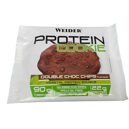 Weider Protein Cookie, Double Choc Chips, 90 g
