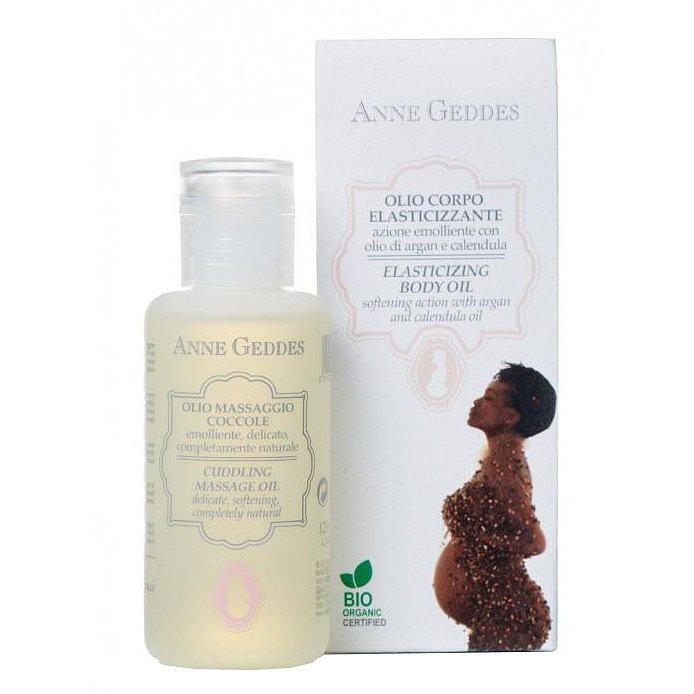 Anne Geddes Bio Pečující olej pro pružnost pokožky 125ml