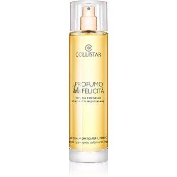 Collistar Benessere Della Felicitá aromatická tělová voda s esenciálními oleji a výtažky ze středomořských rostlin  100 ml
