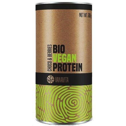VanaVita Bio Vegan Protein choco&berries 600g
