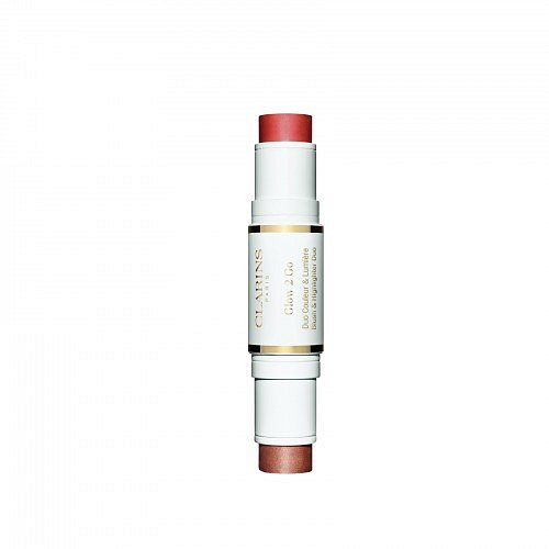 Clarins 2IN1 Stick Highligter & Blush  01 10g