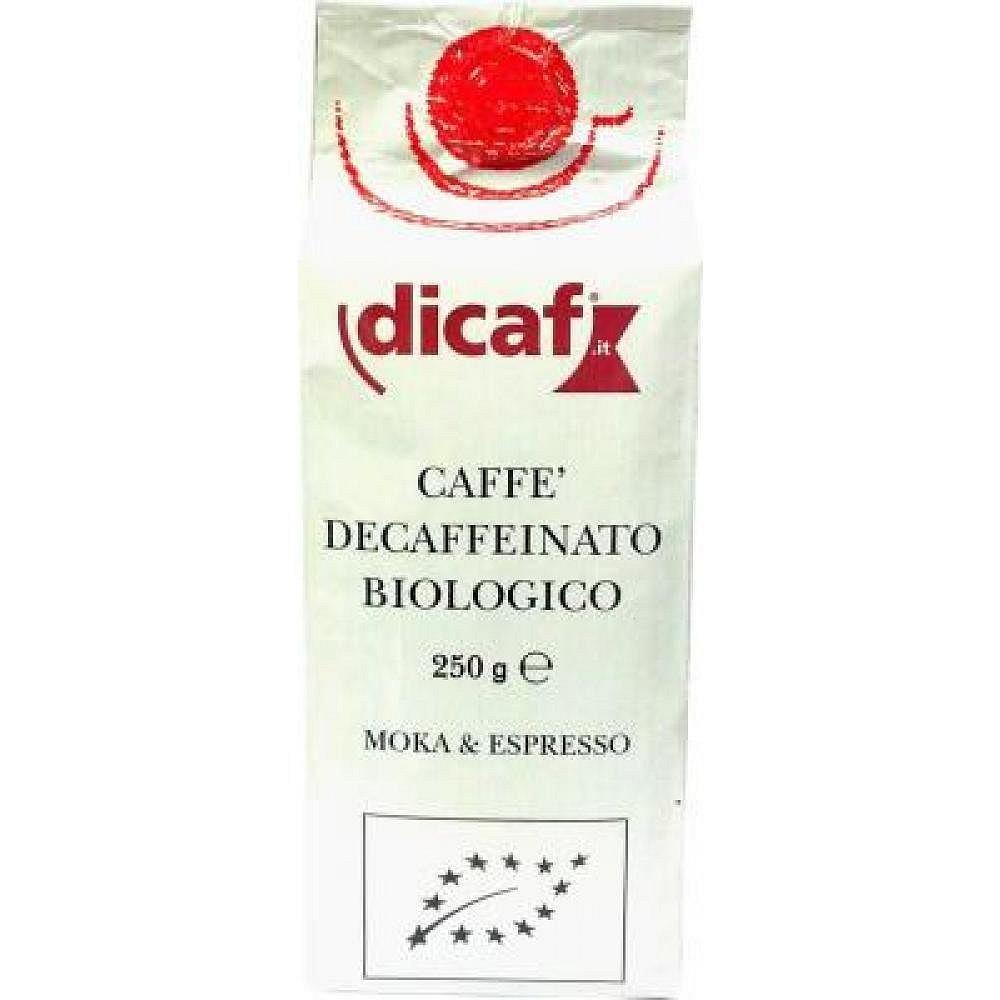 Káva mletá bez kofeinu DICAF 250g-BIO