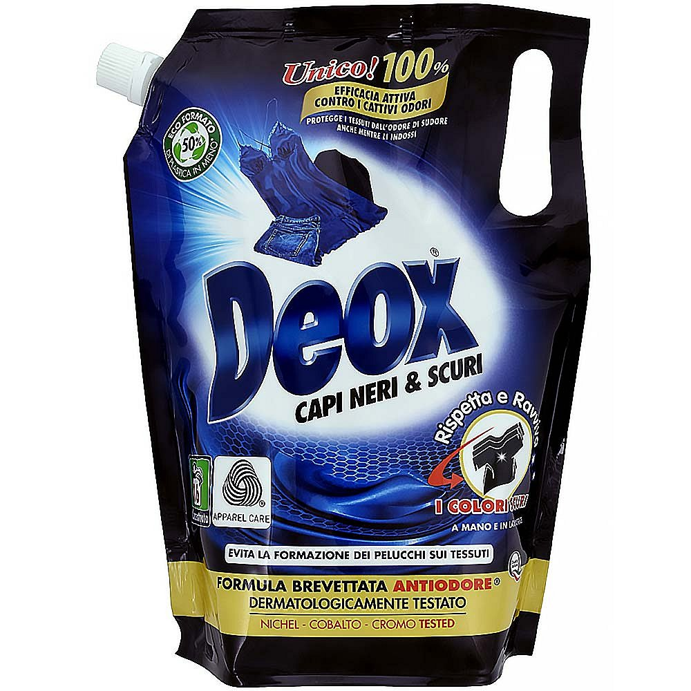 DEOX CAPI NERI & SCURI Ecoformato 800 ml