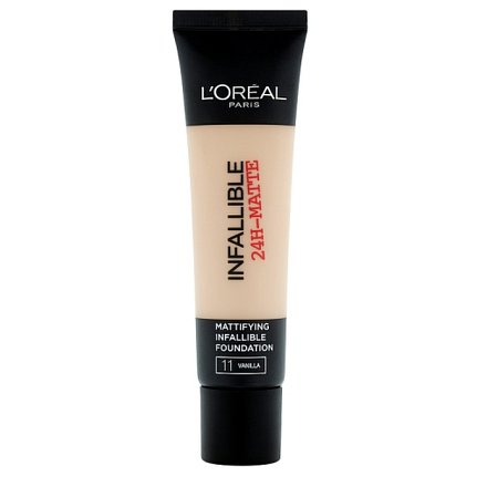 L'Oréal Paris Infaillble Matte krycí a matující make-up Vanilla 11