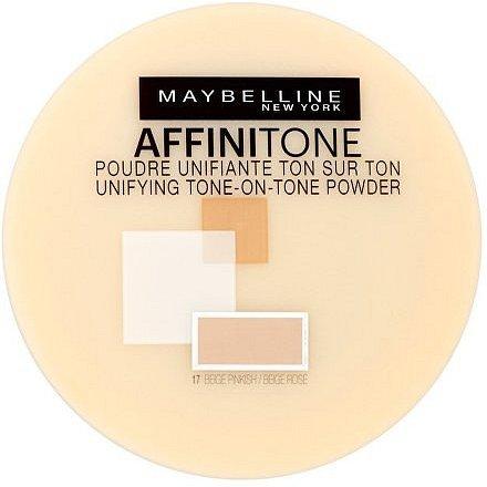 Maybelline Affinitone zmatňující a fixační pudr 42 Dark Beige 9g