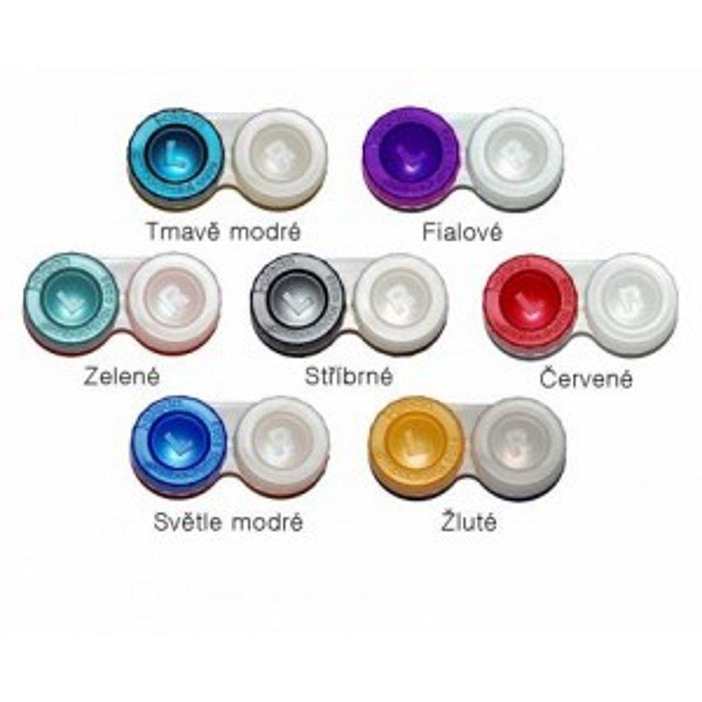 Optipak antibakteriální pouzdro na kontaktní čočky, Barva: Žlutá