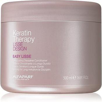 Alfaparf Milano Lisse Design Keratin Therapy uhlazující kondicionér pro narovnání vlasů 500 ml