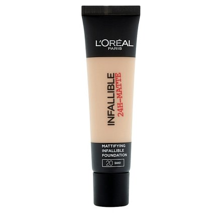 L'Oréal Paris Infaillble Matte krycí a matující make-up Sand 20