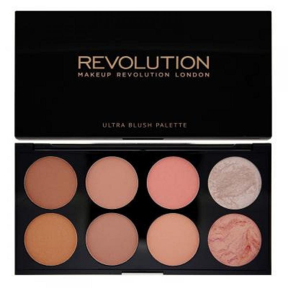 Makeup Revolution Ultra Blush Palette Hot Spice - paletka tvářenek