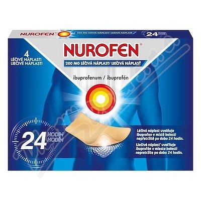 Nurofen 200mg léčivé náplasti 4ks