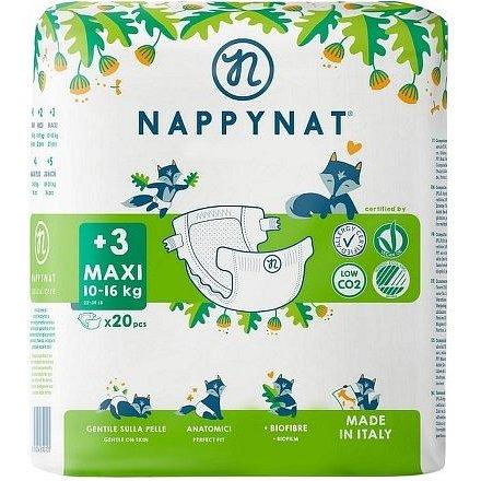 Plenky Nappynat Maxi 8 - 16 kg (20 ks)