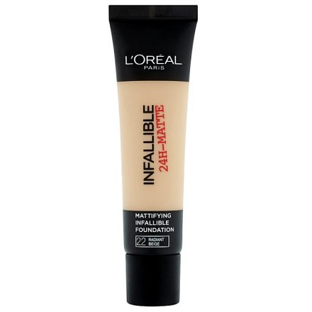 L'Oréal Paris Infaillble Matte krycí a matující make-up Radiant Beige 22