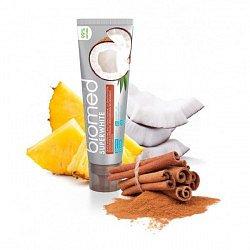 BIOMED Superwhite s kokosovým olejem bělicí zubní pasta na citlivé zuby 100 g